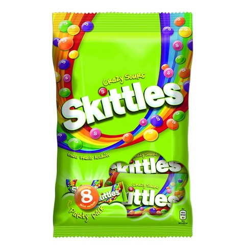 Skittles (Crazy Sours, 208 g)
