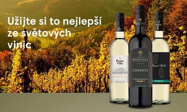 Užijte si to nejlepší ze světových vinic