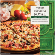 Tesco Premium pizza