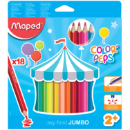 Maped ColorPeps Jumbo Trojhranné pastelky