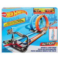 Hot Wheels Autodráha Double Loop Dash
