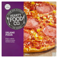 Hearty Food Co. Salámová pizza 300g