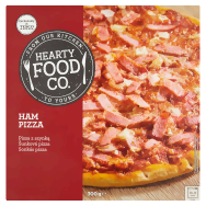 Hearty Food Co. Šunková pizza 300g