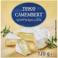 Tesco Camembert 120g