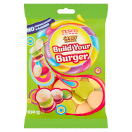 Tesco Candy Carnival Build Your Burger želé s ovocnými příchutěmi 100g