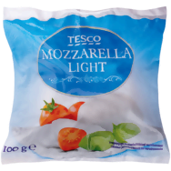 Tesco Mozzarella light 100g