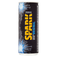 Tesco Spark Energy Drink Original 250ml