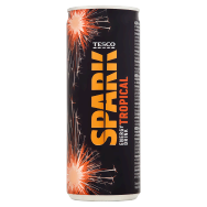 Tesco Energy Drink Tropical 250ml