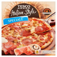 Tesco Stonebaked Speciale pizza 320g