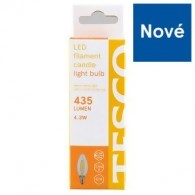 Tesco LED žárovka 4.3 W (38 W) E14