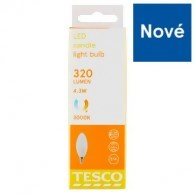 Tesco LED žárovka 4,3W (30W) E14