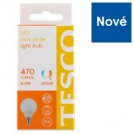 Tesco LED žárovka 6.6 W (40 W) E14