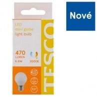 Tesco LED žárovka 6.6 W (40 W) E27