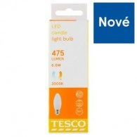 Tesco LED žárovka 6,6W (40W) E27