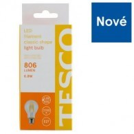 Tesco LED žárovka 6.8 W (60 W) E27
