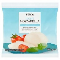 Tesco Mozzarella Light 125g