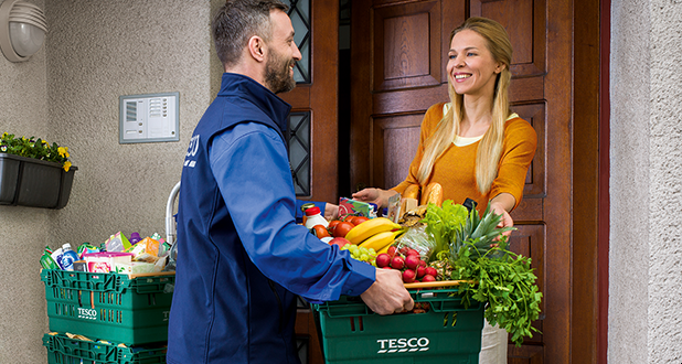 Shop online with Tesco and get a 150 Kč discount for first purchase