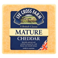 Mature Cheddar coloured
