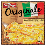 Don Peppe Originale Pizza Quattro formaggi