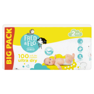 Tesco Fred & Flo Pleny Ultra Dry 2 Mini 100 ks