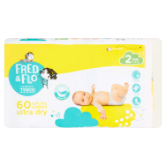 Tesco Fred & Flo Pleny Ultra Dry 2 Mini 60 ks