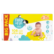 Tesco Fred & Flo Pleny Ultra Dry 3 Midi 108 ks