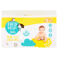 Tesco Fred & Flo Pleny Ultra Dry 3 Midi 54 ks