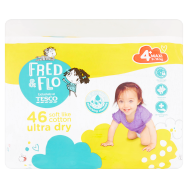 Tesco Fred & Flo Pleny Ultra Dry 4+ Maxi 46 ks