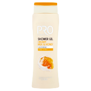 Tesco Pro Formula Sprchový gel Milk & Honey 400ml