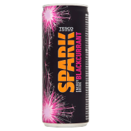 Tesco Spark Energy Drink Blackcurrant 250ml