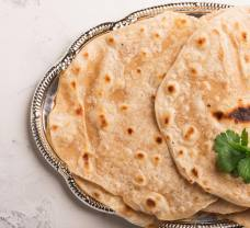 Indické placky chapati